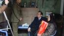 Ngày 3-2 -2016 (25 tết) thăm gia đình liệt sỹ xã Thăng Long, Kinh Môn