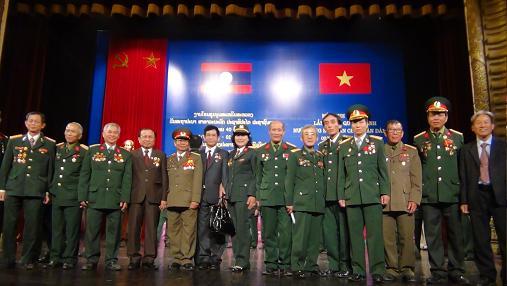 Giao lưu gặp mặt QTN tại Hải Dương và mít tinh kỷ niệm cấp Nhà nước tại Hà Nội - 40 năm Quốc khánh nước CHDC nhân dân Lào (02-12-1975 - 02-12-2015)